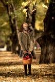 Menina feliz ao ar livre imagem de stock royalty free