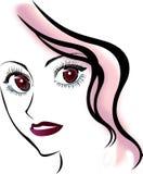 Menina feminino Imagem de Stock Royalty Free