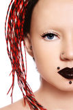 Menina Freaky Imagens de Stock Royalty Free