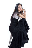 Menina gótico Fotografia de Stock Royalty Free