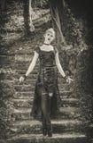 Menina gótico Imagem de Stock