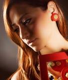 Menina glamoroso Imagens de Stock