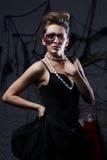 Menina glamoroso queimada Imagem de Stock