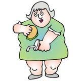 Menina gorda Fotografia de Stock