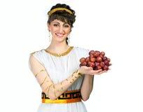Menina grega Fotografia de Stock