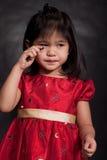 Menina idosa adorável bonito da criança de 2 anos fotografia de stock royalty free