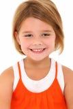 Menina idosa de cinco anos Fotos de Stock