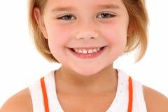 Menina idosa de cinco anos Fotografia de Stock