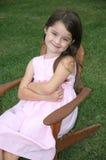 Menina idosa de cinco anos adorável fotos de stock