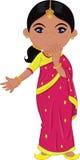 Menina indiana Fotografia de Stock