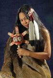 Menina indiana americana imagem de stock royalty free