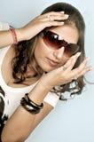 Menina indiana bonito Imagem de Stock Royalty Free