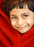 Menina indiana de sorriso Imagem de Stock Royalty Free