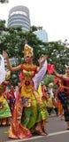 Menina indonésia imagens de stock