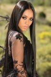 Menina indonésia asiática fotos de stock