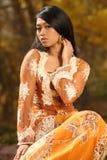Menina indonésia asiática fotos de stock royalty free