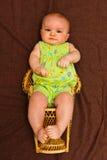 Menina infantil Fotografia de Stock Royalty Free