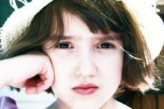 Menina infeliz Imagens de Stock