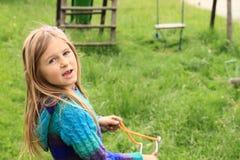 Menina intencional Fotos de Stock Royalty Free