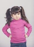 Menina irritada fotos de stock