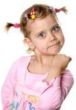 Menina irritada do divertimento Foto de Stock Royalty Free