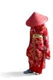 Menina japonesa Imagens de Stock