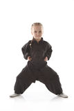 Menina - karateka Fotografia de Stock Royalty Free