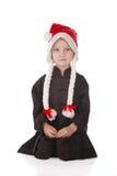Menina-karateka Fotos de Stock Royalty Free