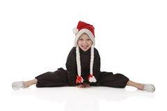Menina-karateka Imagens de Stock