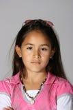 Menina latino-americano fotografia de stock