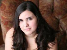 Menina latino-americano adolescente bonita fotos de stock