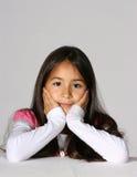 Menina latino-americano bonito imagem de stock