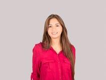 Menina latino nova Fotos de Stock