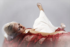 Menina loura Fotos de Stock Royalty Free