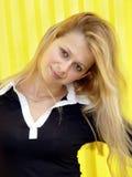Menina loura Foto de Stock