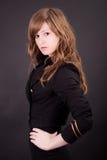 Menina loura bonita do adolescente imagens de stock royalty free