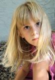 Menina loura bonito foto de stock royalty free