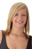 Menina loura nova do adolescente bonito foto de stock royalty free