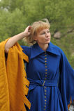 Menina medieval Imagens de Stock Royalty Free