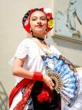 Menina mexicana Imagem de Stock