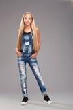 Menina à moda adolescente Imagem de Stock Royalty Free
