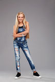 Menina à moda adolescente Foto de Stock