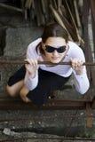 Menina modelo Fotografia de Stock