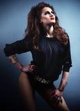 Menina moderna do dançarino do estilo Foto de Stock