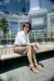 Menina moderna nova da cidade Imagem de Stock Royalty Free