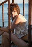 Menina molhada Imagens de Stock Royalty Free