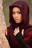 Menina muçulmana Foto de Stock Royalty Free