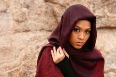Menina muçulmana imagem de stock royalty free