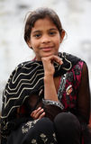 Menina muçulmana bonito fotografia de stock royalty free