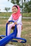 Menina muçulmana nova Foto de Stock Royalty Free